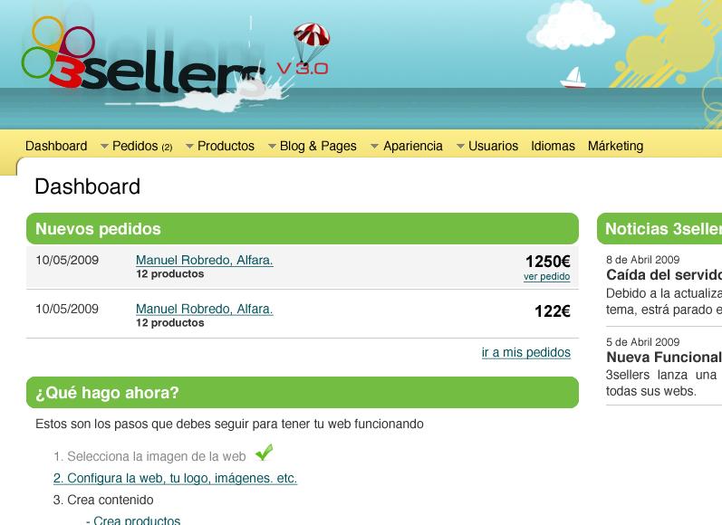 3Sellers, tu tienda virtual en internet
