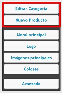 Editar categoría